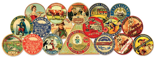 cheese labels - sýrové etikety