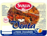 Litva - sýrová etiketa - cheese label