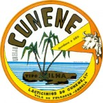 Angola - sýrová etiketa - cheese label