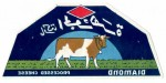 Sýrová etiketa - cheese label - Egypt