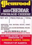Alberta - sýrová etiketa - cheese label
