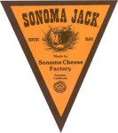 California - sýrová etiketa - cheese label