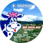 Vietnam - sýrová etiketa - cheese label