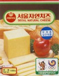Korejská republika - sýrová etiketa - cheese label