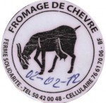 Burkina Faso - sýrová etiketa - cheese label