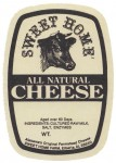 Alabama - sýrová etiketa - cheese label