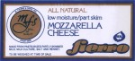 Delaware - sýrová etiketa - cheese label