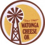 Oklahoma - sýrová etiketa - cheese label