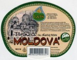 Sýrová etiketa - cheese label - Moldavsko