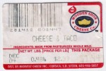 Sýrová etiketa - cheese label - USA