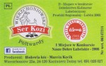 Sýrová etiketa - cheese label - Polsko