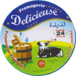 Alžírsko - sýrová etiketa - cheese label