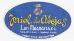 Sýrová etiketa - cheese label - Argentina