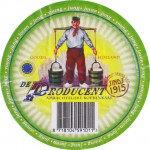 Nizozemsko - sýrová etiketa - cheese label