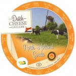 Sýrová etiketa - cheese label - Nizozemsko